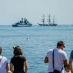 Avanpremieră Ziua Marinei Române – spectacol total pe apă, în aer și pe uscat (fotoreportaj)