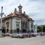Piața Ovidiu și mașinile de pe vremea bunicilor