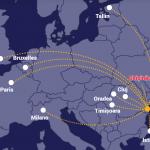 Un nou zbor pe aeroportul din Constanța
